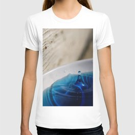 Water Droplet Moment Captured T-shirt