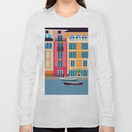 Colour Houses Long Sleeve T-shirt