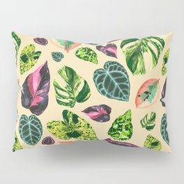 People's Plants Pattern Pillow Sham