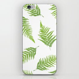 Fern seamless pattern iPhone Skin