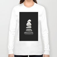 balance Long Sleeve T-shirts featuring balance by ARTbyJWP
