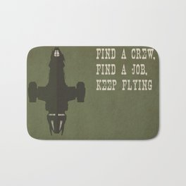 Find a Crew, Find a Job, Keep Flying Bath Mat