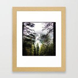 Silver Falls Framed Art Print