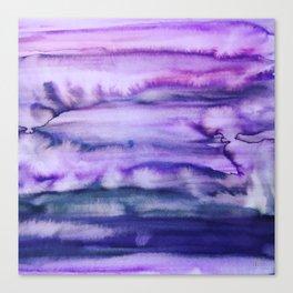 Power Purple Canvas Print