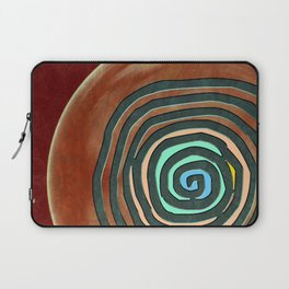 Tribal Maps - Magical Mazes #02 Laptop Sleeve