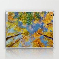 Fall trees in the sky Laptop & iPad Skin