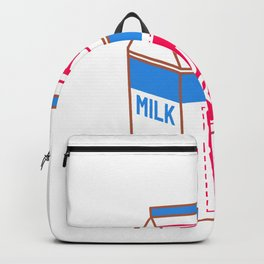 just right milk Backpack
