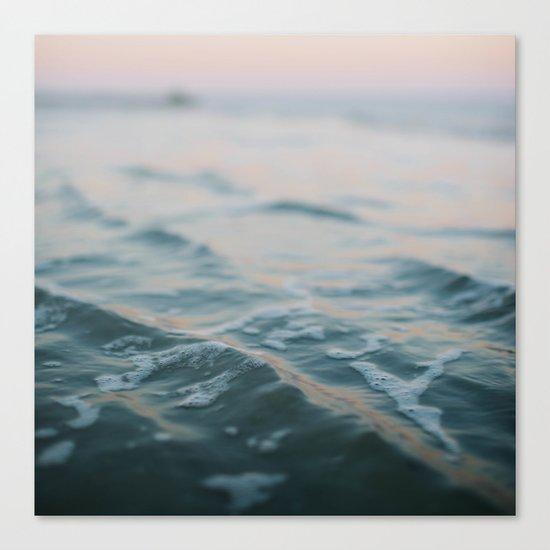 Blue Underneath Canvas Print
