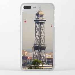 No rush hour...Barcelona Clear iPhone Case
