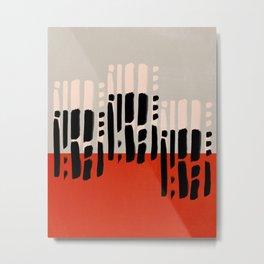 Modern minimal 01 Metal Print