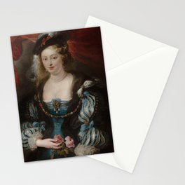Portrait of a Young Woman - Peter Paul Rubens Stationery Cards