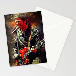 Noel Gallagher Stationery Cards