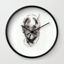 Woman With Head Wound Wall Clock