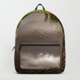 Driftwood And Cattails Backpack