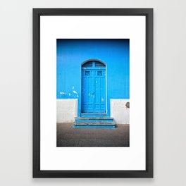Superazul Framed Art Print