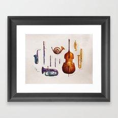 Wind Orchestra Framed Art Print