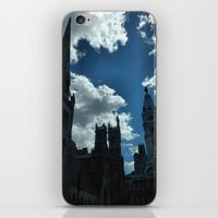philadelphia iPhone & iPod Skins featuring Philadelphia by Julie Maxwell