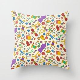 Sewing pattern Throw Pillow