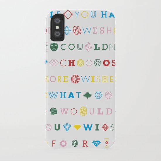 One Wish iPhone Case