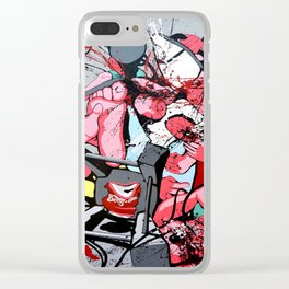 Guerre puDiche Clear iPhone Case