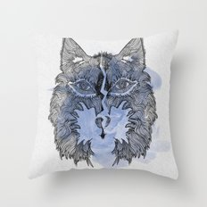 Wolfee Throw Pillow
