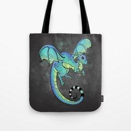 Digital Dragon (dark) Tote Bag