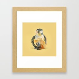 Spider Monkey. Framed Art Print