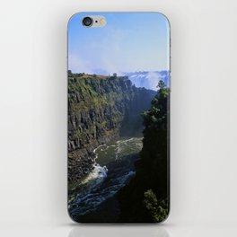 The Zambezi Gorge iPhone Skin