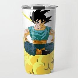 Son Goku ilustration Travel Mug