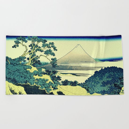 Crossing at Kina Beach Towel