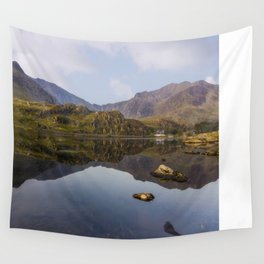 Morning Reflections Wall Tapestry