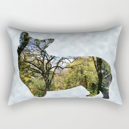 Barking Up the Right Tree Rectangular Pillow
