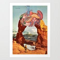 Delicate Arch, Utah Art Print
