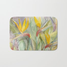 Birds of Paradise Bath Mat
