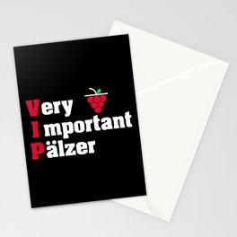 Paelzer VIP Rhineland Palatinate wine love Stationery Cards