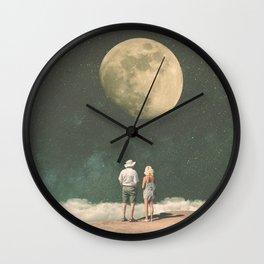 The Presence of Nostalgia Wall Clock