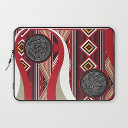 American Native Pattern Poster Laptop Sleeve