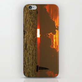 Sunset - Daytona Beach iPhone Skin