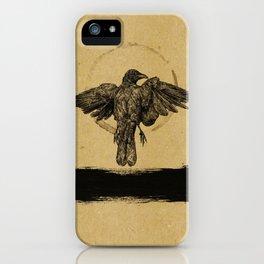 Quiet Bird iPhone Case