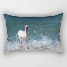 Florida White Ibis Rectangular Pillow