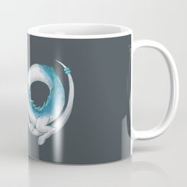 Eternal Eastern Blue and White Dragon  Coffee Mug