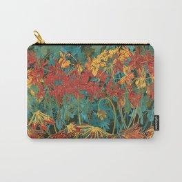 Fancy-Leaf Geraniums Carry-All Pouch