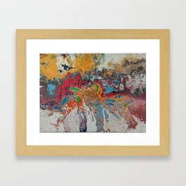 Landscape with Formless Investigation Framed Art Print