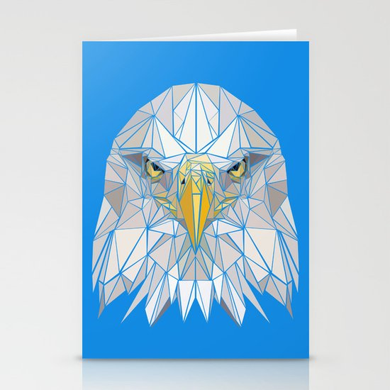 Blue Eagle Stationery Cards