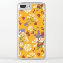 Jubilee in Sweet Potato Clear iPhone Case