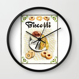 BISCOTTI Wall Clock