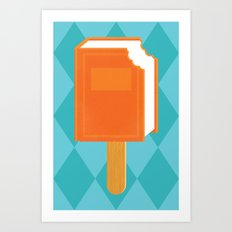 Summer Reading Art Print
