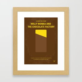 No149 My willy wonka mmp Framed Art Print