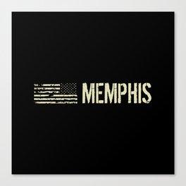 Black Flag: Memphis Canvas Print