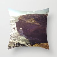 south africa Throw Pillows featuring Africa by KIEKKMA